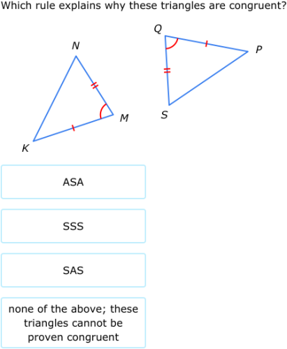 ixl congruent triangles sss sas and asa grade 9 maths practice. Black Bedroom Furniture Sets. Home Design Ideas